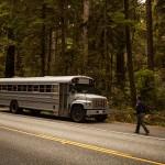 車上生活 バス
