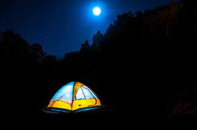 キャンプ挑戦