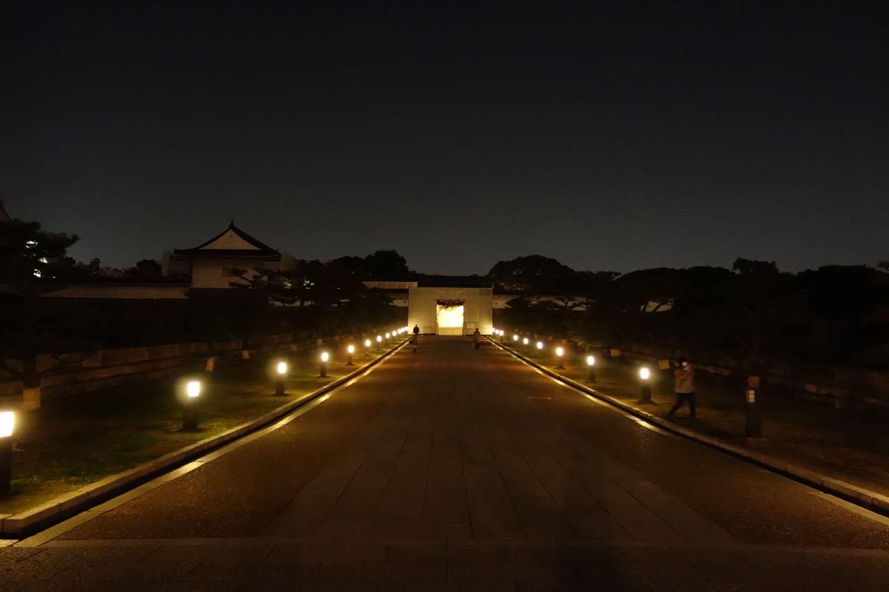 大阪城ランニング