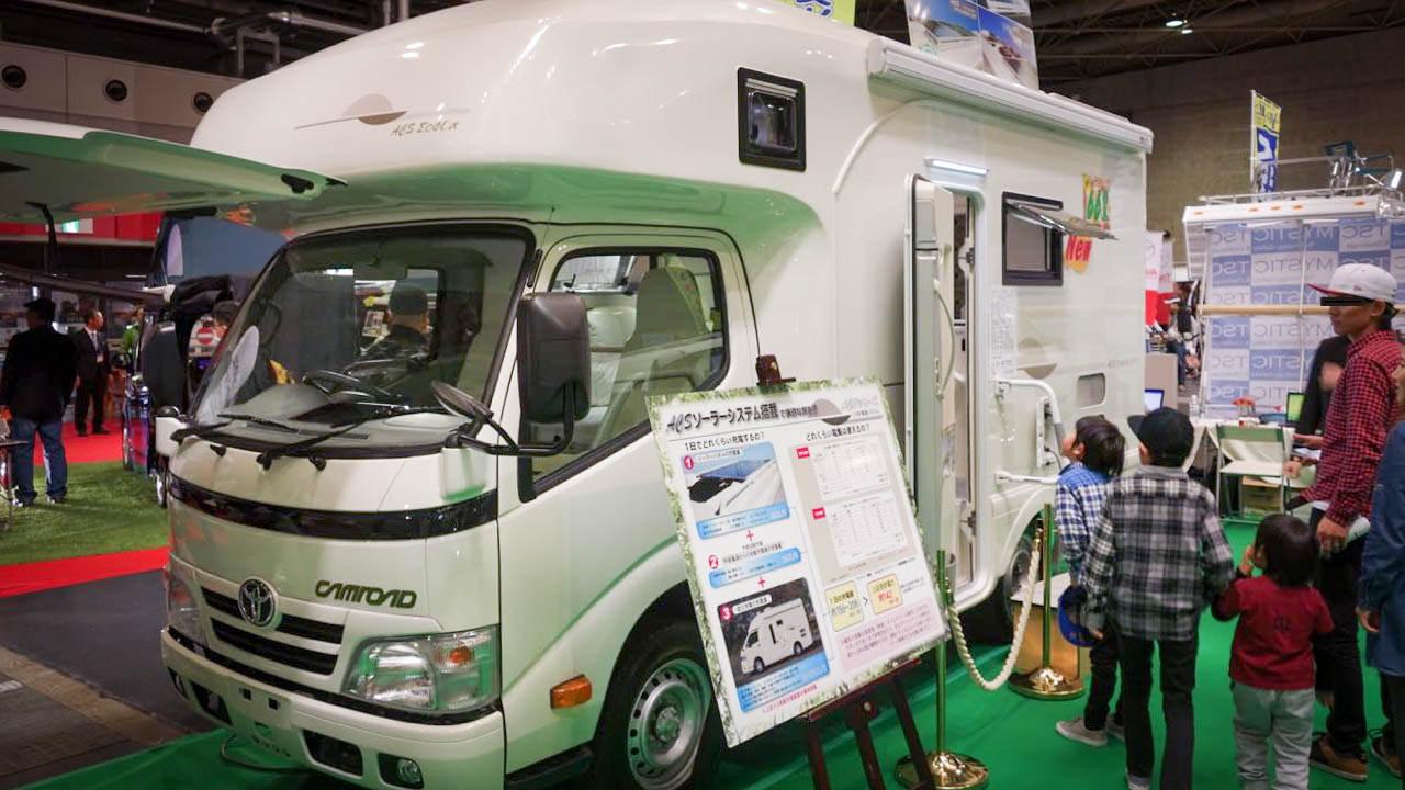 大阪キャンピングカーショー