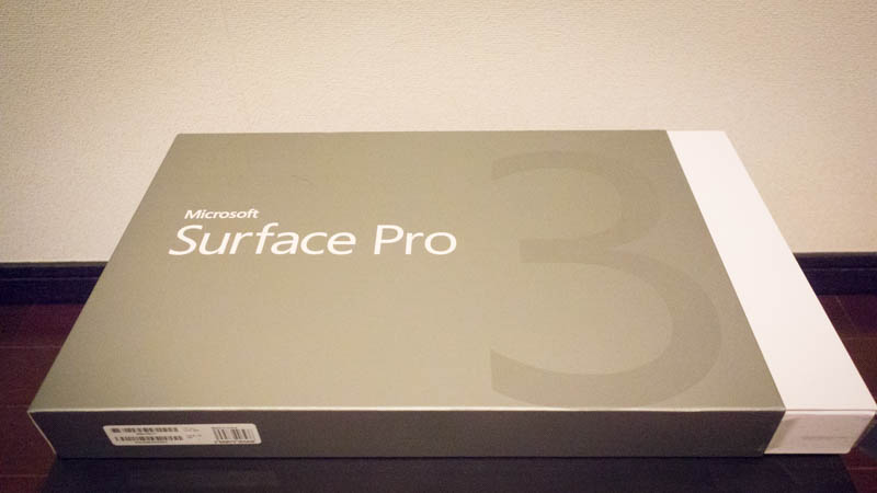 SURFACEプロ3