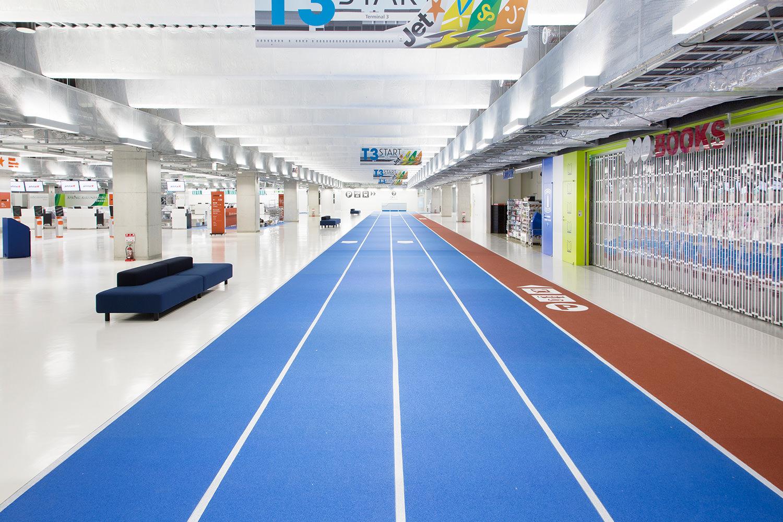 成田空港第3ターミナル、ミニマルデザイン