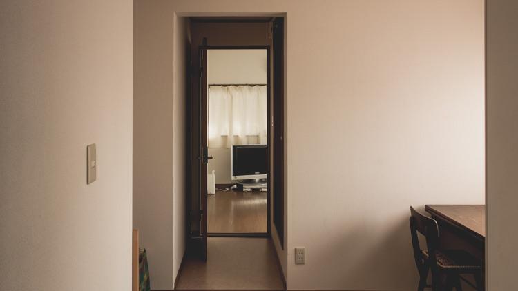 第三回出張ミニマリストの依頼者の部屋玄関