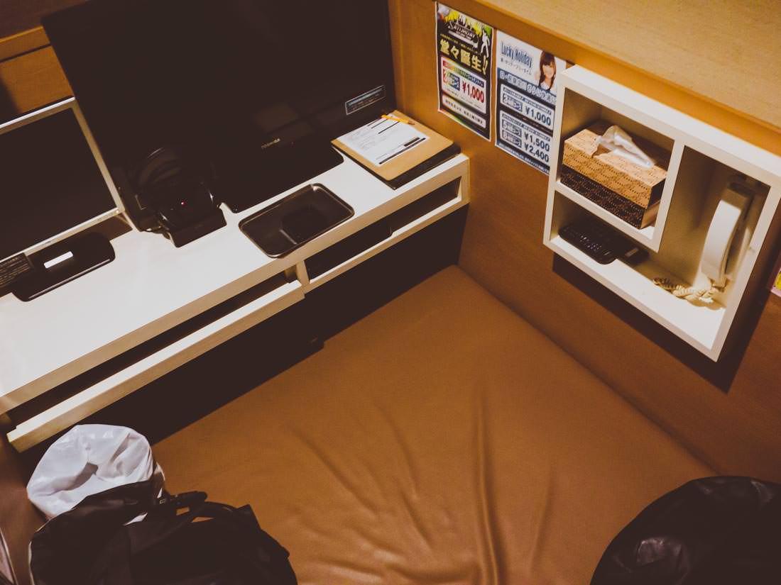 キャッツの個人部屋